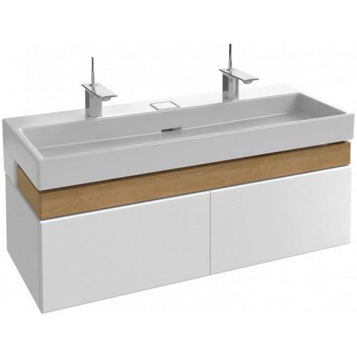 Мебель под раковину 120см Jacob Delafon TERRACE EB1188, Белый блестящий лак