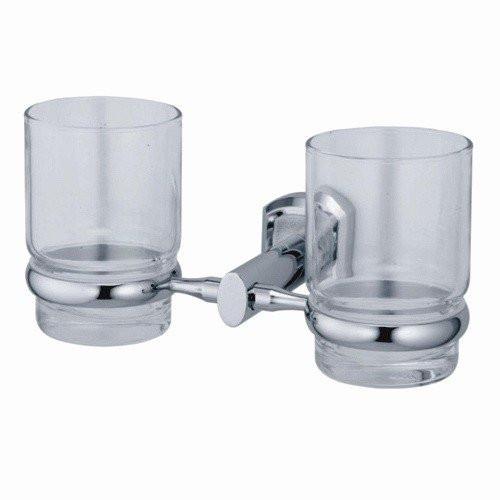 Подстаканник двойной стеклянный Wasser Kraft Oder К-3028D