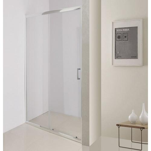 Душевая дверь 110х195см Belbagno UNO-195-BF-1-110-C-Cr