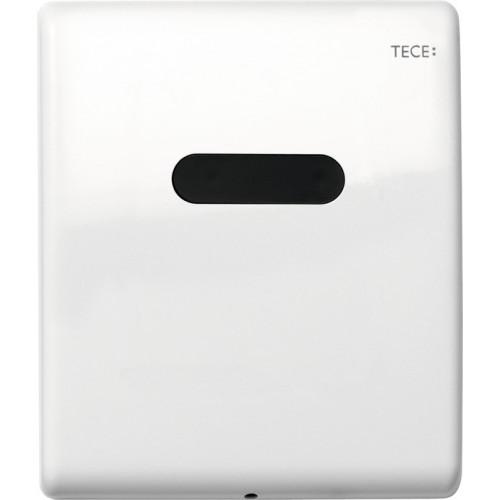 Электронная панель смыва TECEplanus для писсуара, батарея 6 В, белая глянцевая