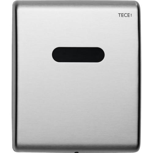 Электронная панель смыва TECEplanus для писсуара, батарея 6 В, нержавеющая сталь, сатин