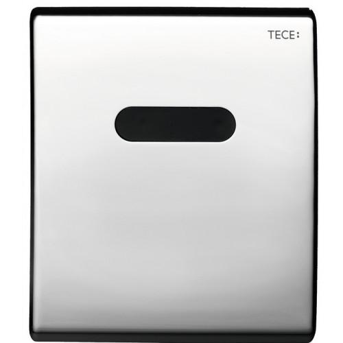 Электронная панель смыва TECEplanus для писсуара, батарея 6 В, хром глянцевый