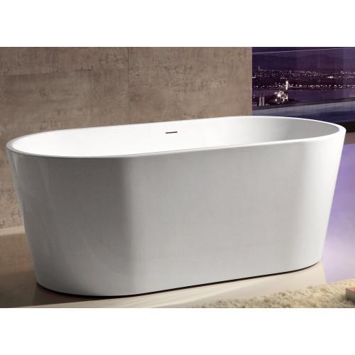 Акриловая отдельностоящая ванна 150x80см ABBER AB9203-1.5