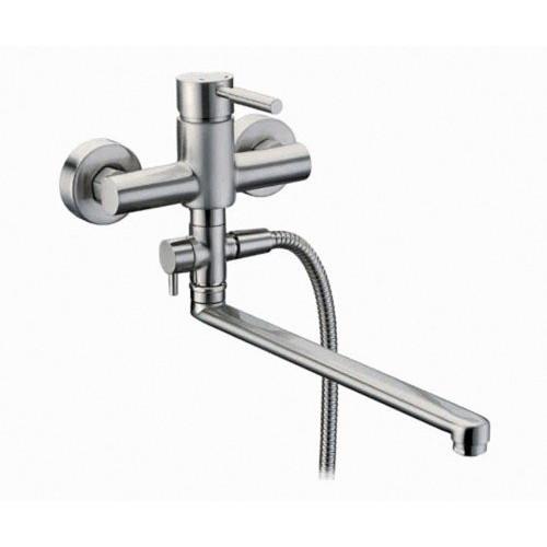Wern 4202L Смеситель для ванны с длинным изливом, WasserKRAFT