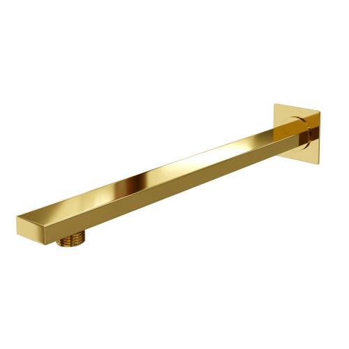 Настенный излив для душа золото WasserKraft Sauer A183